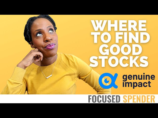Need Help Picking Stocks? You MUST Try the Genuine Impact App!