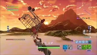Fortnite - Crazy Flying Shopping Cart Glitch (FLY SUPER FAST OUT OF MAP)