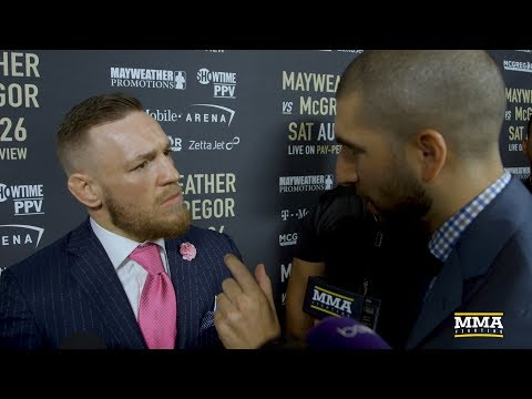 Thumbnail: Conor McGregor Reacts to LA Presser, Says Floyd Mayweather Told Him 'MMA Next'