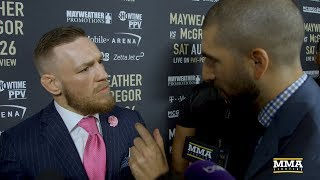 Conor McGregor Reacts to LA Presser, Says Floyd Mayweather Told Him 'MMA Next'