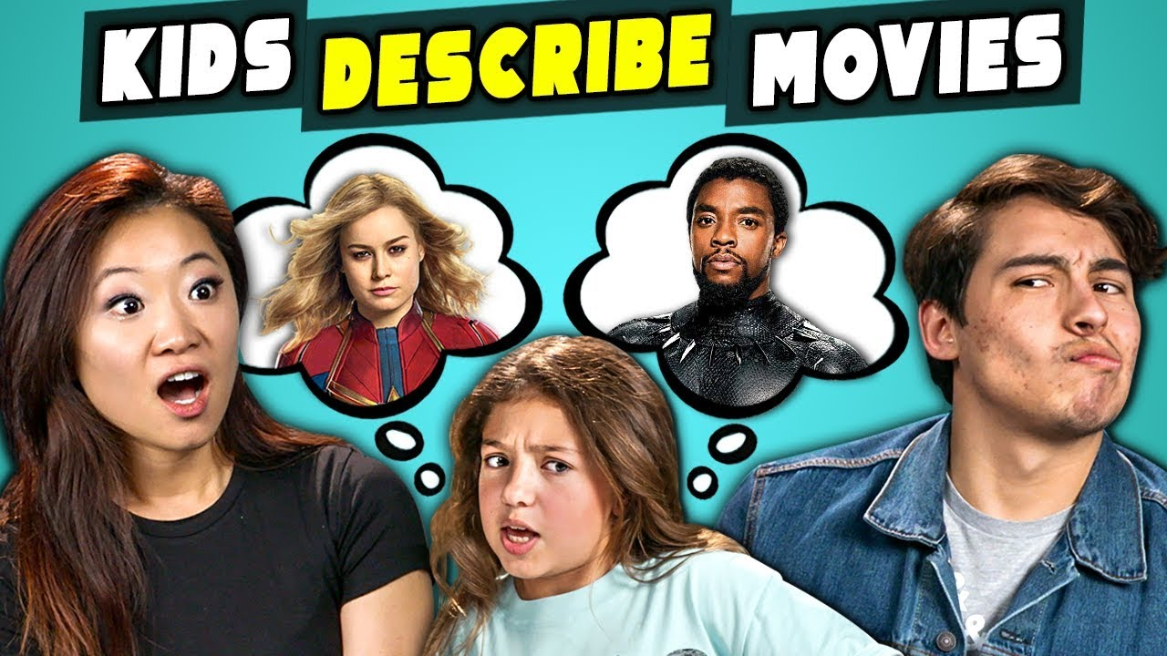 Can Marvel Fans Guess Marvel Movies Described By Kids? (React)
