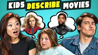 Download Can Marvel Fans Guess Marvel Movies Described By Kids? (React) Mp3 and Videos
