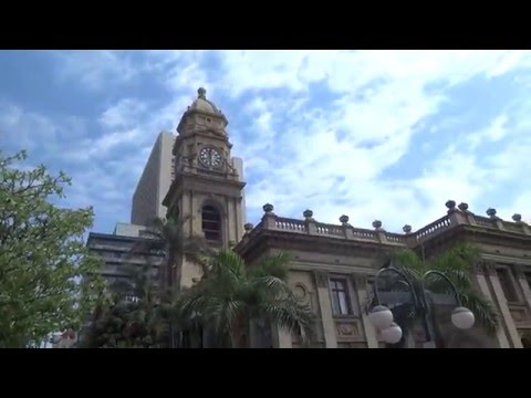 Central Post Office, Durban, Oct. 06-4. Atina is showing us around town. S. Africa 2015
