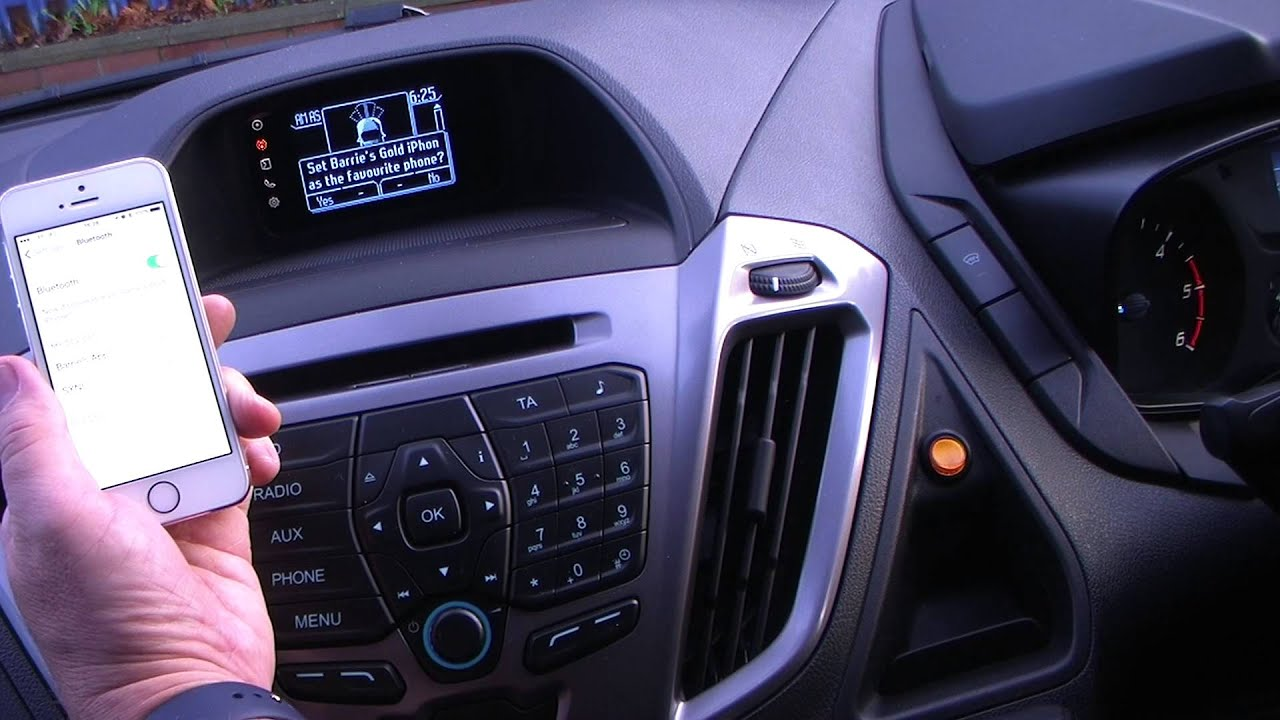 2014 Ford Escape For Sale >> How to pair your iPhone to the Bluetooth system in a 2014 Ford Transit Custom Van - YouTube