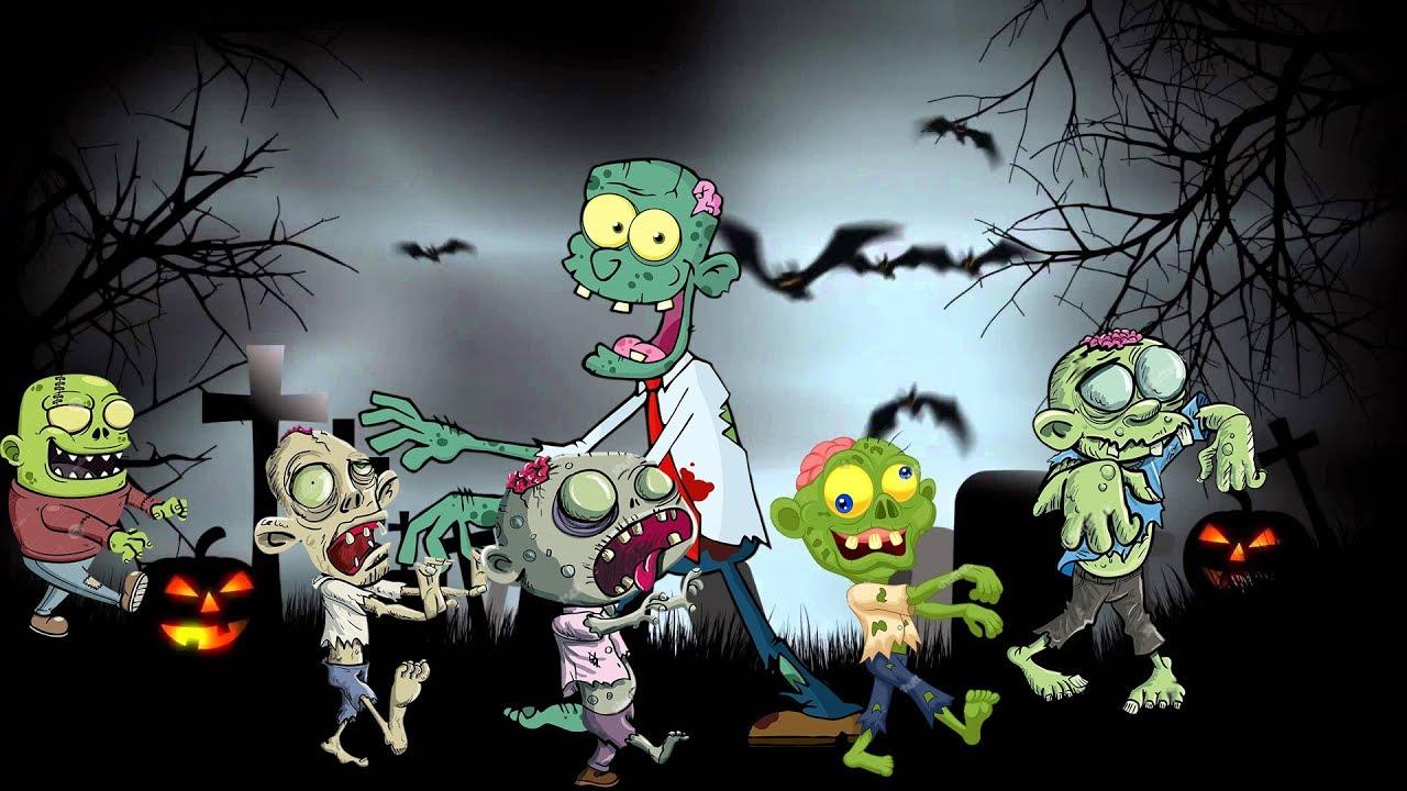 Зомби детская картинка