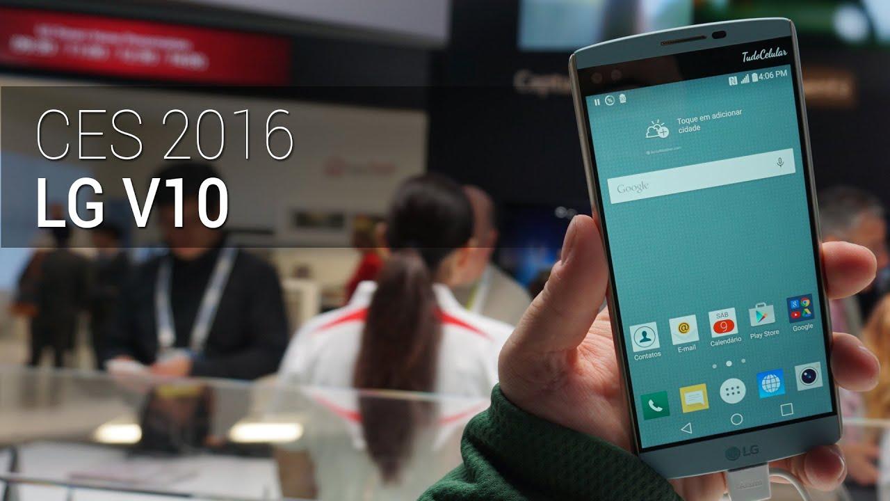 CES 2016: LG V10