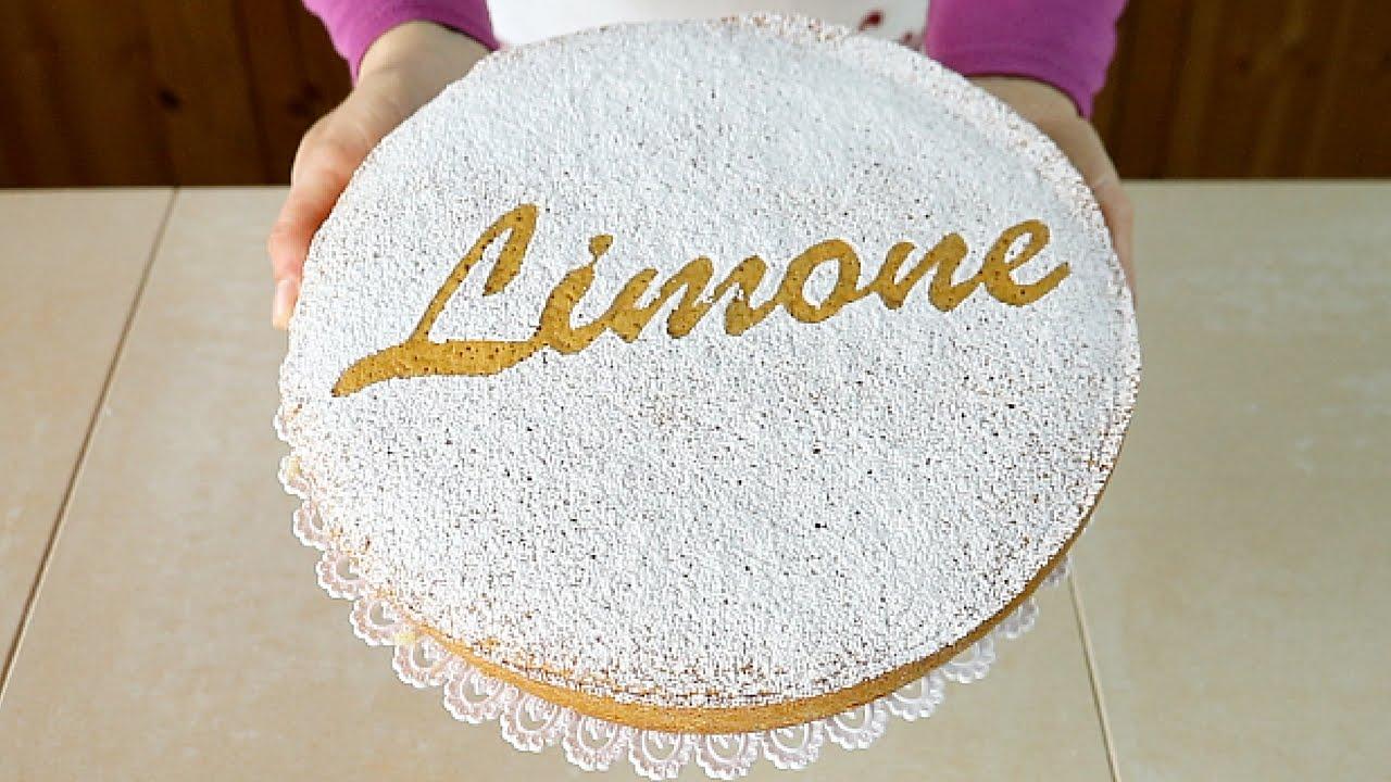 Torta Soffice Al Limone Ricetta Facile Senza Latte E Senza Burro