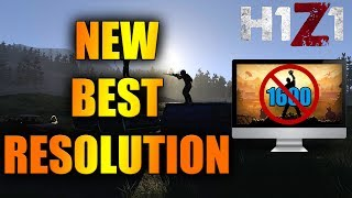 NEW BEST RESOLUTION FOR H1Z1 KOTK!!