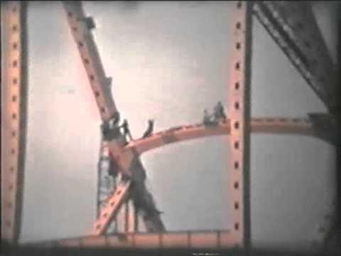 1962 Flood & Bridge Construction in Cincinnati (Brent Spence)