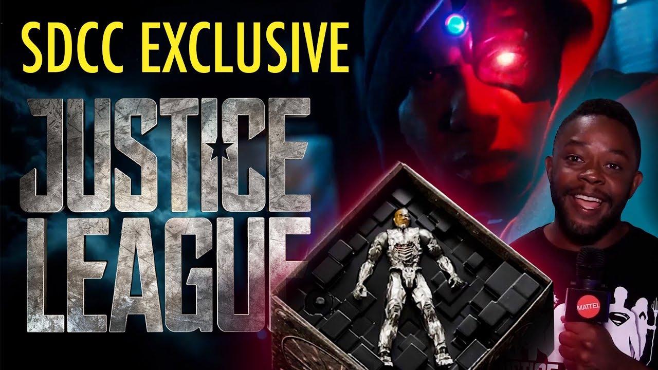 SDCC 2017 Mattel DC Justice League Cyborg Origins Exclusive Figure