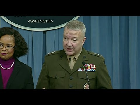 DEPARTMENT OF DEFENSE BRIEFING - 1/25/2018 Turkey Kurds Syria conflict
