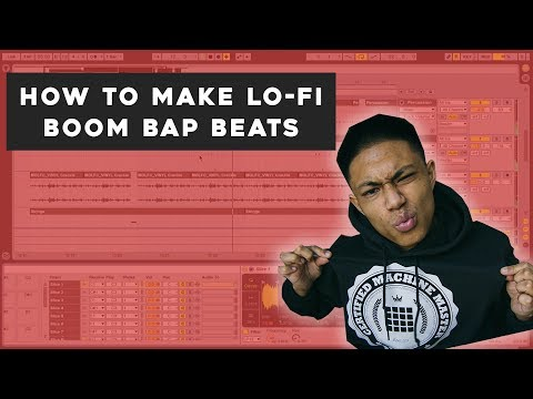 How To Make LoFi Boom Bap Beats | LoFi Casso x DeLorean Sample Pack Review Using Ableton