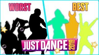 My Top: From the WORST to the BEST song of Just Dance 2019