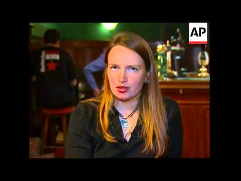 UK: ELECTRICALLY CHARGED BARMAID CAUSES LIGHTBULBS TO BLOWS