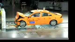 Volvo S80 40 MPH Frontal Crash Test