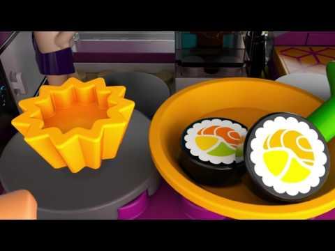 Lego 41135 | Lego Friends | Livi's Pop Star House | Lego 3D Review
