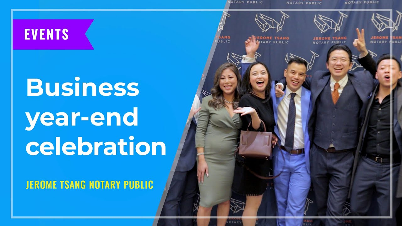 EVENTS: Business year-end celebration