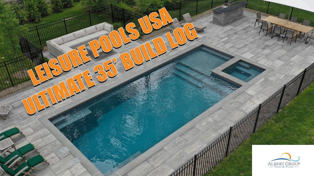 vinyl vs concrete vs fiberglass pools