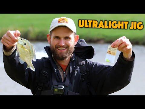 A Brand New ULTRALIGHT JIG For Multispecies Fishing!