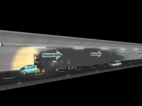 Safety for Road Tunnels: Simulation without Fire Curtains | Aigner Tunnel Technology GmbH