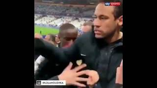 Neymar Gets Angry And Fight With Fan after Losing In French Cup Final●