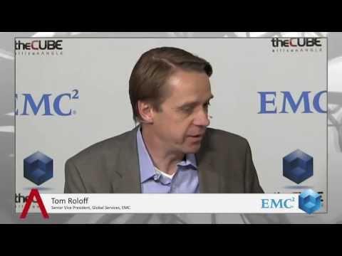 Tom Roloff - EMC World 2013 - theCUBE - #EMCWorld