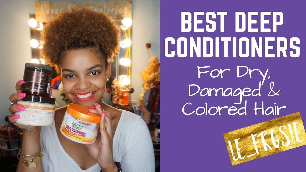 Best Deep Conditioners Dry Damaged Or Color Treated Bilingual