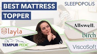 Best Mattress Toppers 2020 - Our Top 5 Picks!