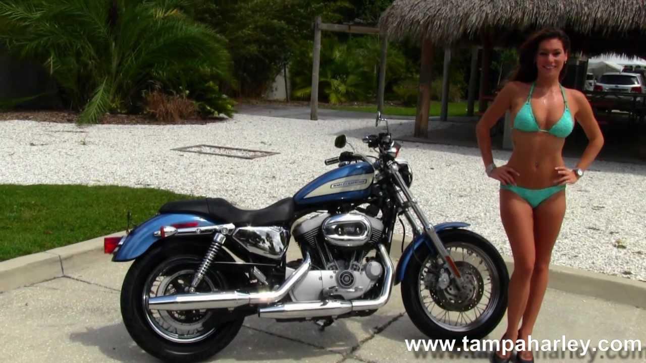 Used 2005 Harley Davidson Xl1200r Sportster Roadster For