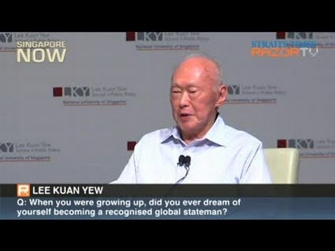 Lee Kuan Yew: Why Singapore has little entrepreneurial spirit (Pt 1)