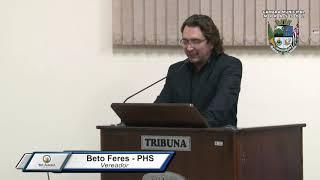 30ª Sessão Ordinária - Vereador Beto Feres