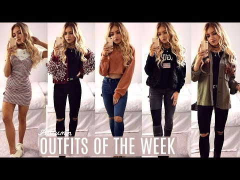 AUTUMN OUTFITS OF THE WEEK / EVERYDAY OUTFIT IDEAS LOOKBOOK 2017