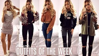 One of MissAlex's most viewed videos: AUTUMN OUTFITS OF THE WEEK / EVERYDAY OUTFIT IDEAS LOOKBOOK 2017