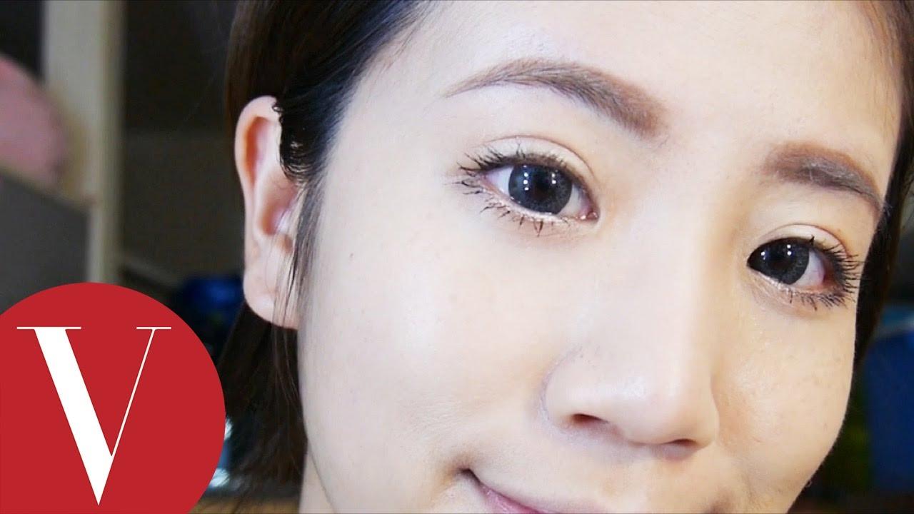 自然系女孩大眼妝怎麼畫?|喜多|彩妝教學 - YouTube