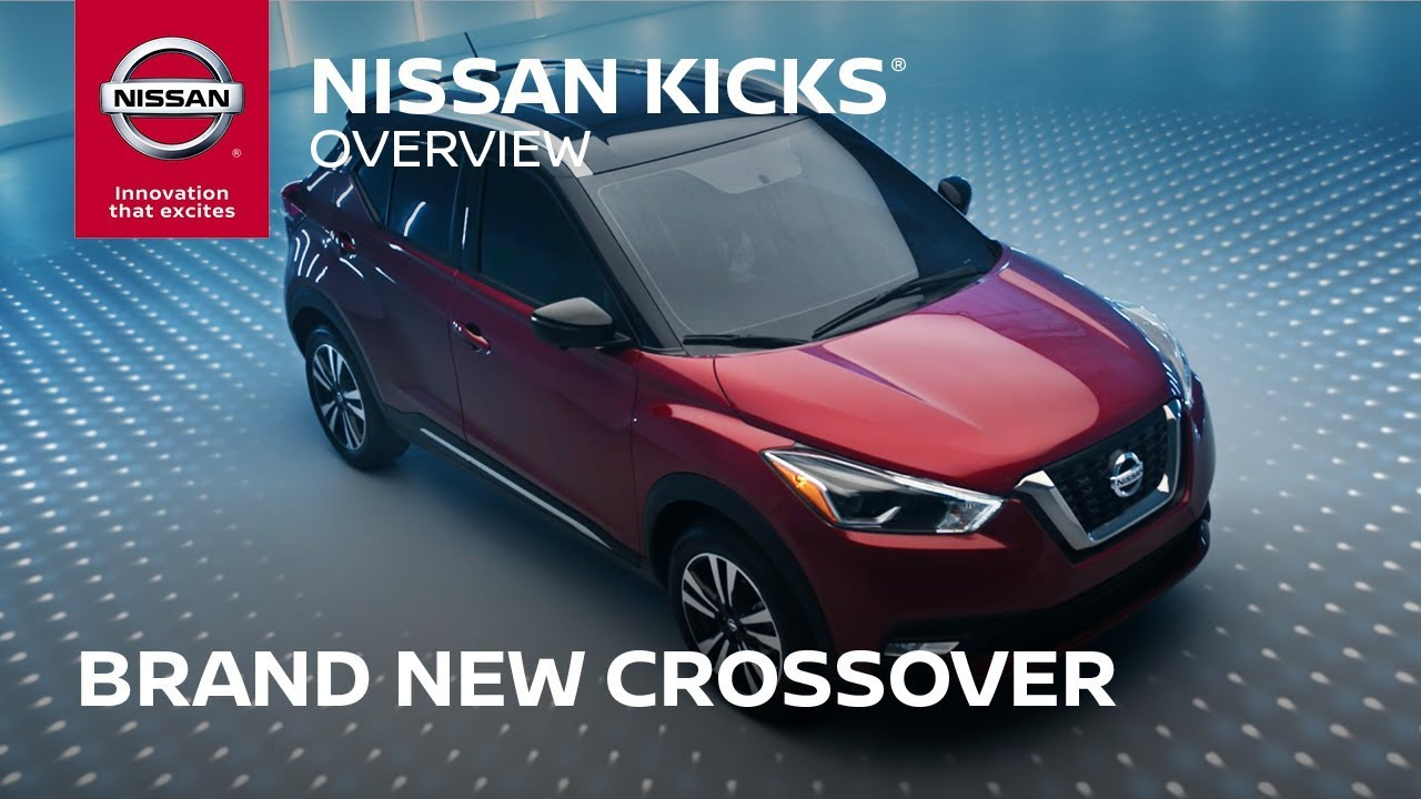 2018 nissan kicks - brand new crossover - youtube