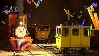 Мультики про машинки. #ПАРОВОЗИК Шонни Новый мультфильм 3D Приключения в шахте! Трейлер #пропаровозы