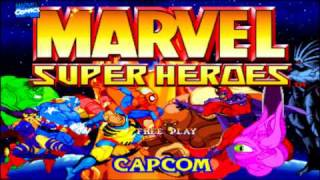 Marvel Super Heroes (ARCADE  Intro HD)