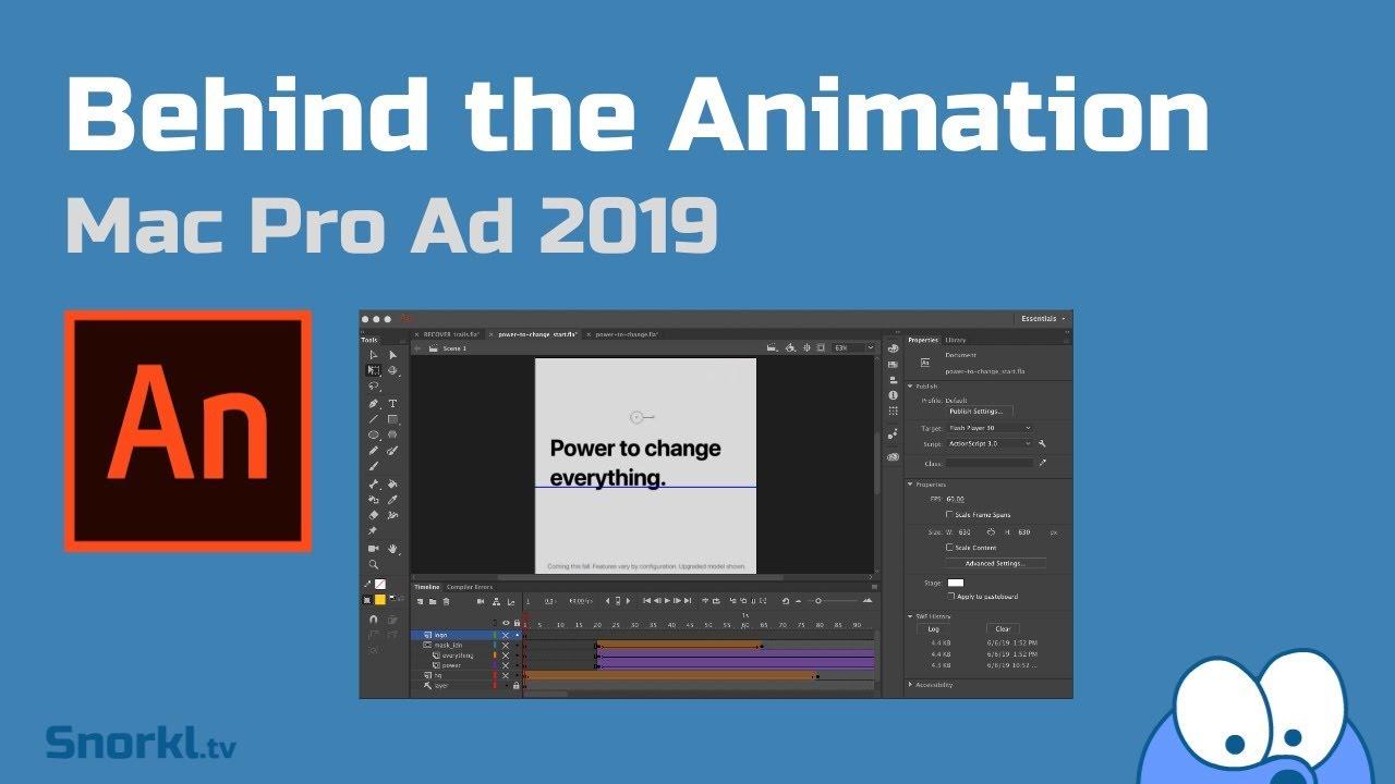 Animate CC | Behind The Ad: Mac Pro 2019