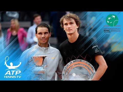 Nadal Battles Past Zverev, Wins Record 8th Rome Title | Rome 2018 Final Highlights