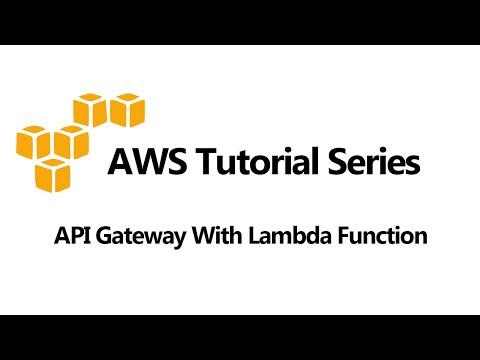API Gateway With Lambda Function Example