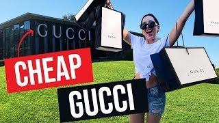 I Went to the Secret GUCCI Discount Store – The LARGEST Gucci Store In The WORLD | Mar