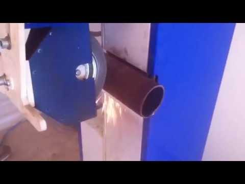 Круглошлифовальный станок ШКП 20-50 М2. Обработка трубы 76
