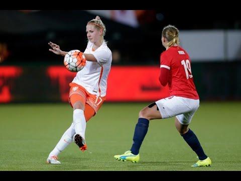 Highlights Noorwegen - Oranjevrouwen (5/3/2016)