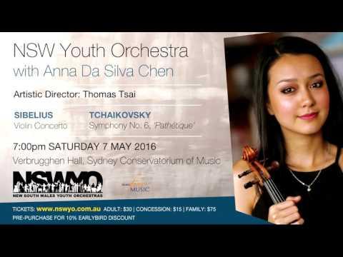 Violinist Anna Da Silva Chen - interviewed by Harry Godber for NSWYO