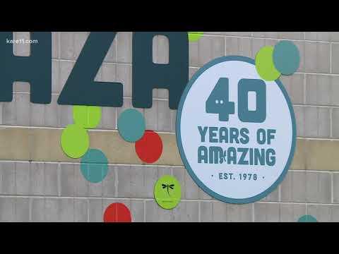 Minnesota Zoo celebrates its 40th birthday