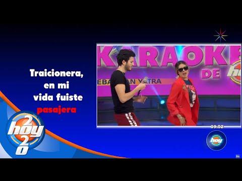¡Galilea Montijo canta con Sebastián Yatra!   Karaoke   Hoy
