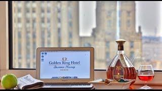 Гостиницы Москвы. Отель Золотое кольцо (Golden Ring Hotel)(К услугам гостей этого 5-звездочного отеля, расположенного в 7 минутах ходьбы от пешеходной улицы Арбат..., 2013-12-10T00:31:53.000Z)