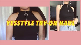 yesstyle try-on haul
