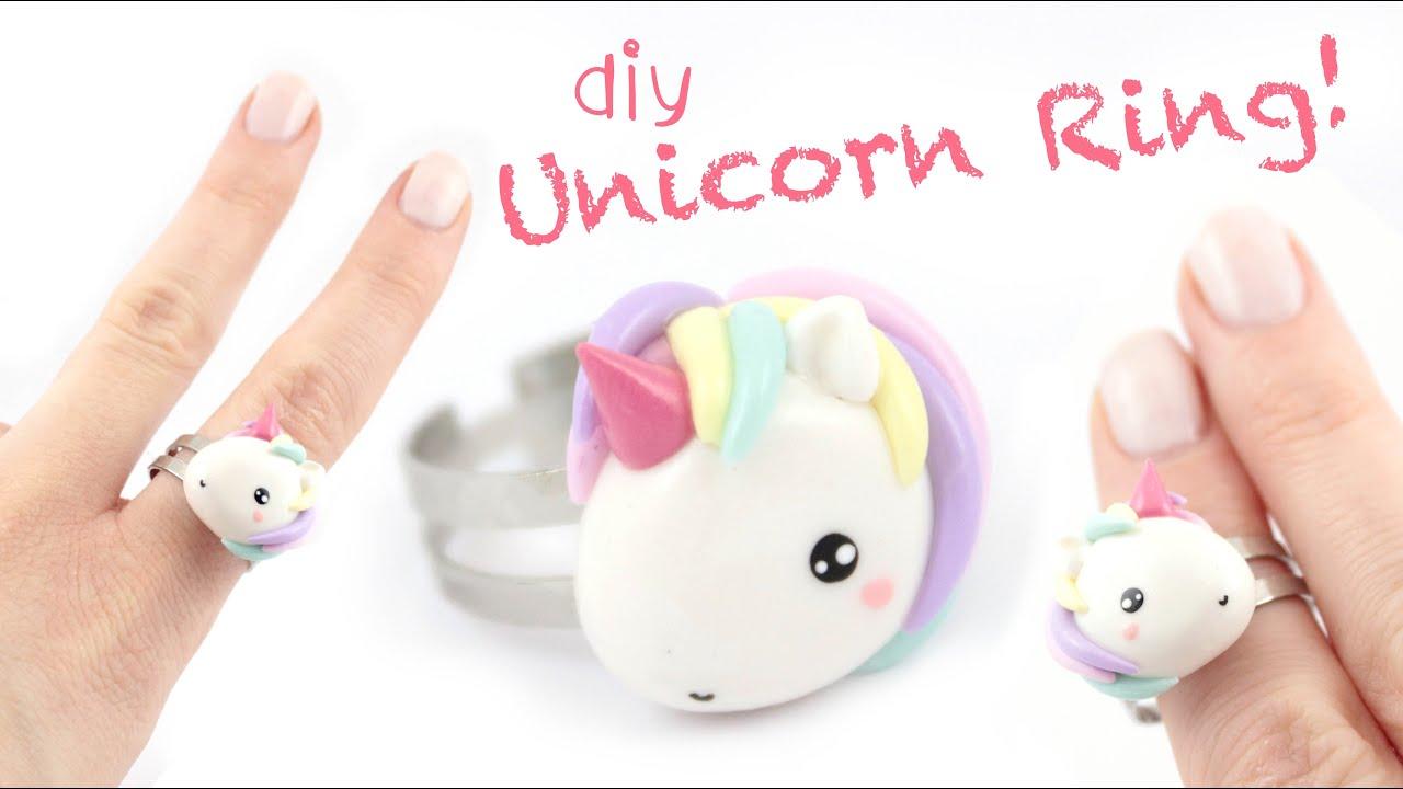 Unicorn Ring DIY Kawaii Friday YouTube