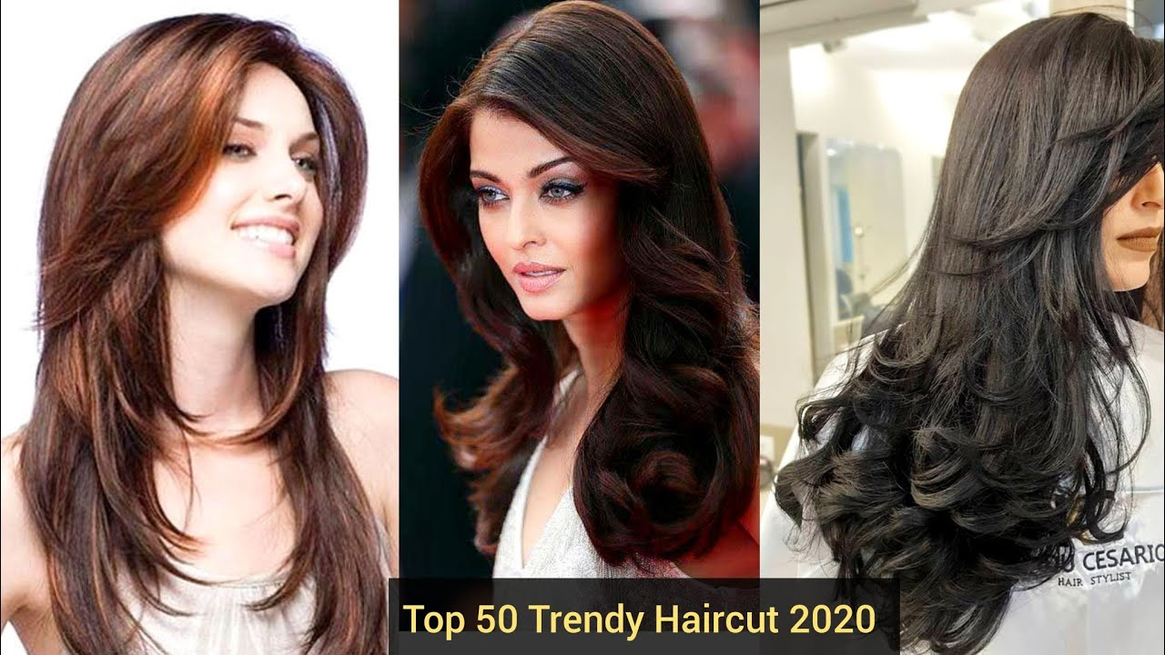 Top 50 Stylish Beautiful Haircuts Hairstyles Layer Cut Hairstyle Highlights Trend 2020 Youtube